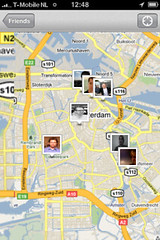 Foursquare Friends Map