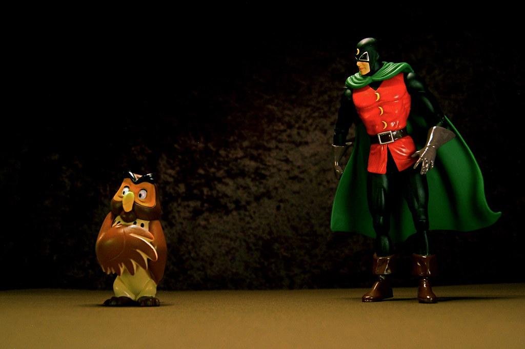 Owl vs. Doctor Mid-Nite (188/365)