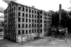 Remains of an era gone by - Old Lane, Halifax, UK