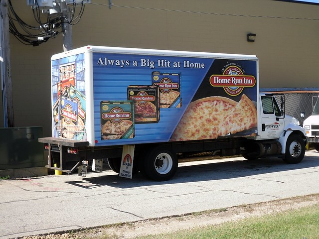 Home Run Inn Pizza Delivery Truck Flickr Photo Sharing