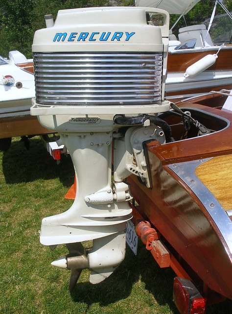 Vintage Mercury Outboard Motor Flickr Photo Sharing