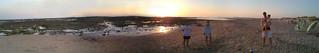Imagen de Playa de la Cortadura cerca de Cádiz. sunset atardecer spain cadiz sanfernando nokian900 quickpanorama