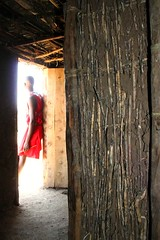 Inside the Masai Hut