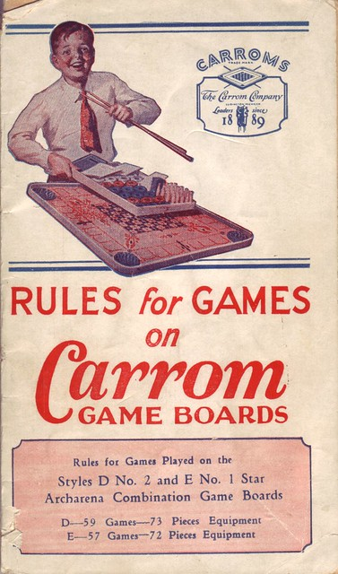 carrom game board instructions