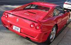 ferrari f40(0.0), ferrari 348(0.0), ferrari 308 gtb/gts(0.0), ferrari 575m maranello(0.0), ferrari 328(0.0), race car(1.0), automobile(1.0), ferrari 288 gto(1.0), vehicle(1.0), automotive design(1.0), ferrari f355(1.0), land vehicle(1.0), luxury vehicle(1.0), supercar(1.0), sports car(1.0),