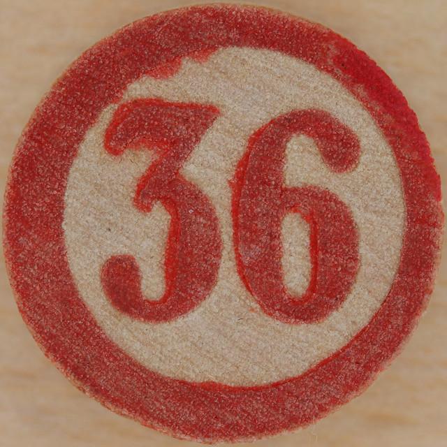 Bingo Number 36   Flickr - Photo Sharing!