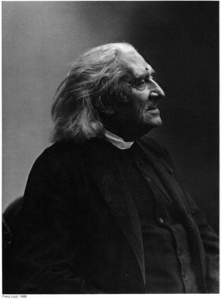 Franz Liszt, by Nadar 1886