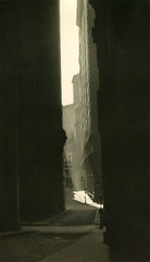 William Street, New York, by E.O. Hoppe 1921
