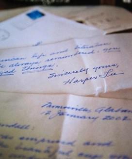 'Harper Lee Letters from Garden & Gun magazine' by William Arthur Fine Stationery