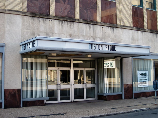 The Boston Store is a former department store located at and State Street in downtown Erie in the U.S. state of Pennsylvania. The store itself was founded in , with the building being constructed in At its peak, two other Boston Stores were opened, in addition to the downtown store. The Boston Store was closed in The building remained abandoned until , when it was.