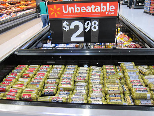 01 Jimmy Dean Sausages at Wal-Mart