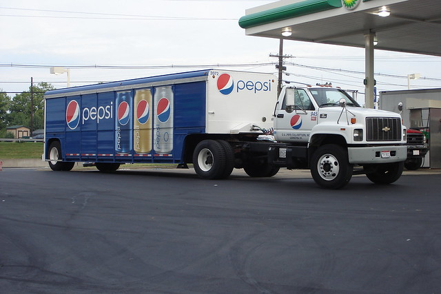 Similiar Pepsi Delivery Truck Apply Keywords