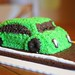 Green Bug Car Cake