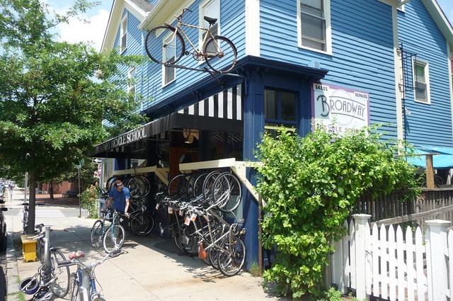 Mid Cambridge - Broadway Bicycle School, Cambridge, MA