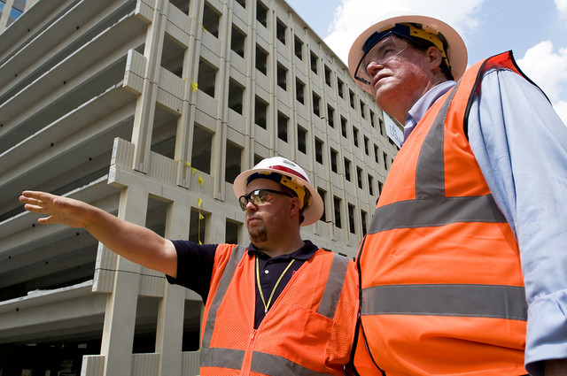 USACE Engineers conduct site visit