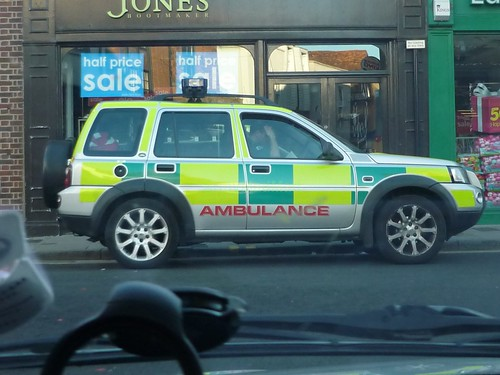 Wings Ambulance Service - Landrover RRV