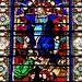 1 - 15 juiillet 2010 Gerberoy Eglise abbatiale Choeur Vitrail de l'Assomption ©melina1965