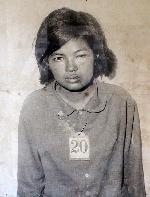 Victim 20, S-21 Tuol Sleng, before being tortured and murdered by the Khmer Rouge 1975-79