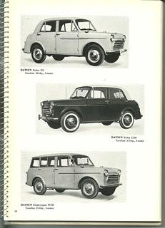 1959 Nissan Cars JDM