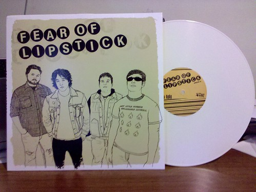 Fear Of Lipstick - S/T LP - White Vinyl /100 by factportugal