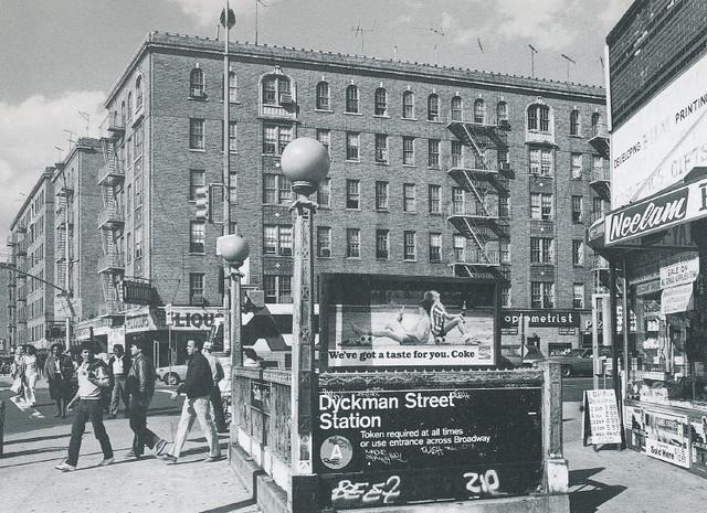 20 Dyckman Street Subway Station, 200th Street   taken ...