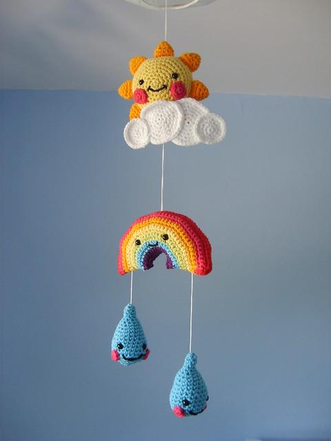 kawaii crochet mobile flickr photo sharing. Black Bedroom Furniture Sets. Home Design Ideas
