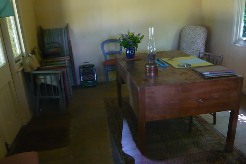 Virginia Woolf's writing cabin
