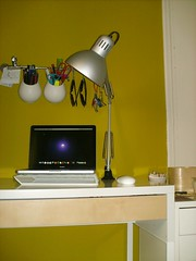 TERTIAL -- Ikea desk lamp.