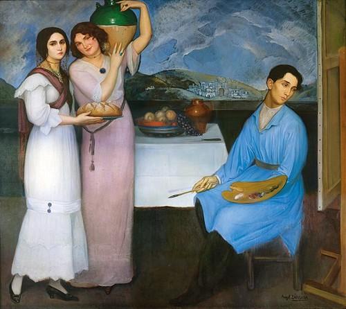 Angel Zarraga, Bread and Butter, c. 1910