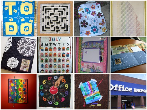 Project QUILTING - Office Store Challenge Entries