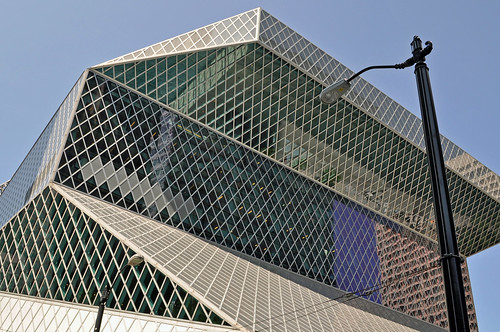 Seattle Central Library (by Rem Koolhaas)