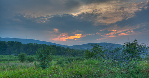 sunset summer clouds canon eos pennsylvania mark july troy ii 5d hdr township windturbines