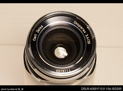 Carl Zeiss Skoparex 35mm F3.4 (BM)