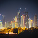Medium Doha Night Skyline Velvia Rescan