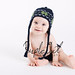 Knit Baby Hat in Vegan Cotton with Earflaps and Navy Blue Green White Nordic Snowflake Photo by Purple Owl Photography by Babbidge Patch Adorable Hats & Scarves