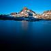 Small photo of Sunrise at Thousand Island Lake