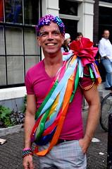 Amsterdam Gay Pride 2010 street vibe
