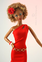 Barbie Basic Red Model 08 -1