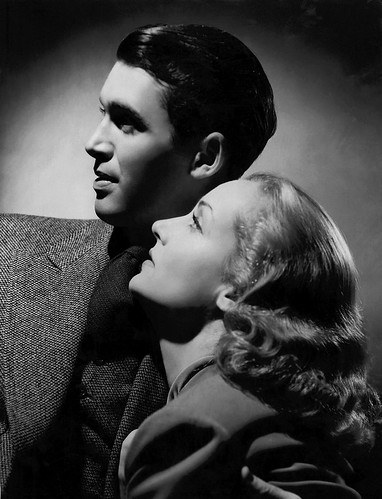 James Stewart and Carole Lombard