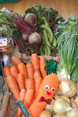 carrot, vegetable, shallot, produce, food,