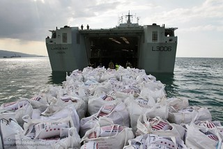 Humanitarian Supplies are Delivered to Haiti from the UK