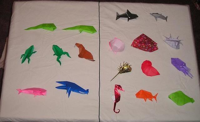 origami sea creatures instructions
