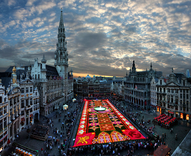 Brussels, Biggest carpet of flowers in the world, , Belgium