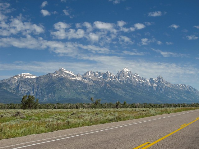 The Teton Range, Wyoming
