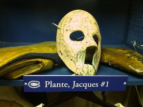 Jacques Plante goalie mask