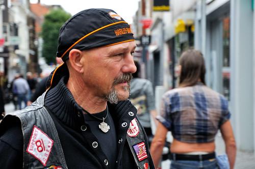 Harley Davidson rijder - Harley Davidson rider (3)