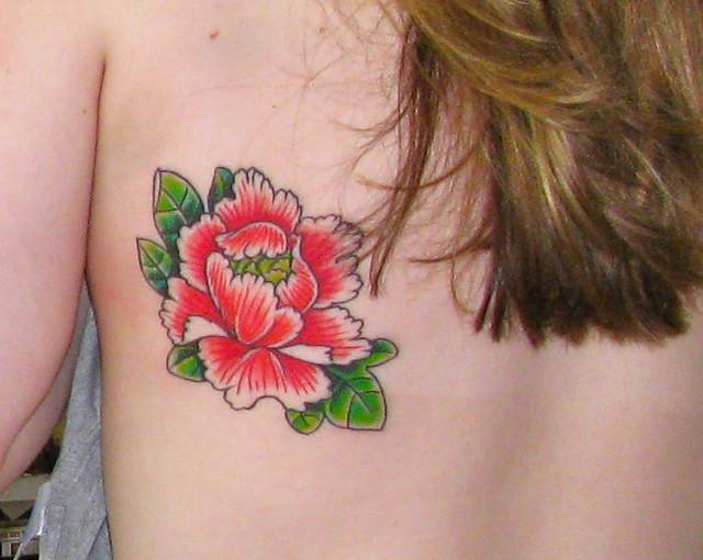 Peony Tattoo Flickr Photo Sharing