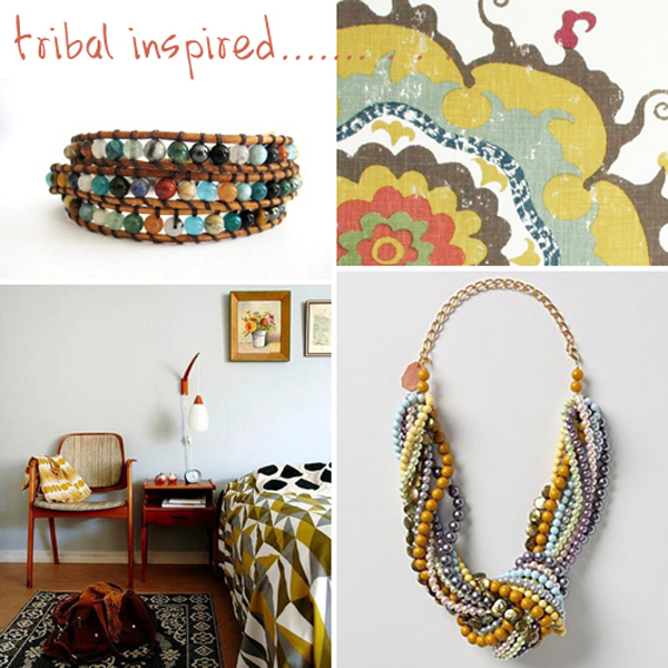 colour palette : tribal inspired - curated by Emma Lamb