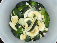 salad, vegetable, summer squash, vegetarian food, food, zucchini, cuisine,