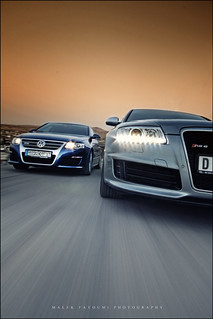 RS6 V10 & Passat R36 Rig shot ! [Explored]